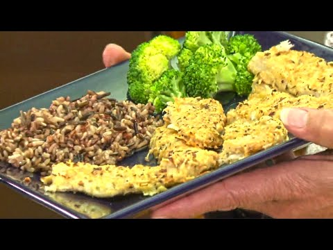 How to Cook Yummy Baked Parmesan Walleye