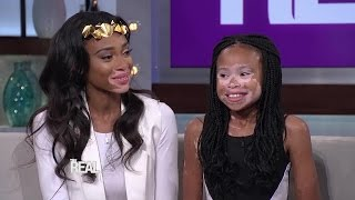 Winnie Harlow Meets April Star!