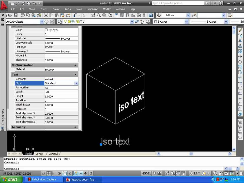 iso text - YouTube