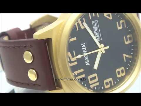 050d2fb827e RELÓGIO MAGNUM SOVIET MA32952P - YouTube