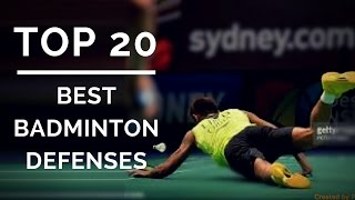 TOP 20 BEST BADMINTON DEFENSE