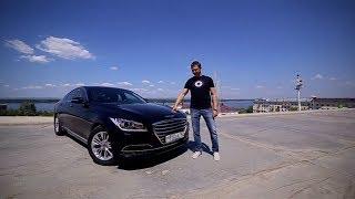 тест-драйв Hyundai Genesis 2014. Динамика и управляемость