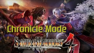 Samurai Warriors 4 [PS4] | CAW & Chronicle Mode (Ep.1)