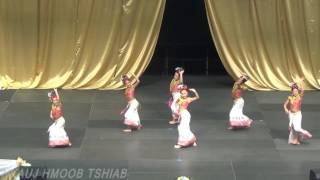 Hmong mn new year dance competition 2016-17 Day 2 : Nkauj Hmoob Tshiab