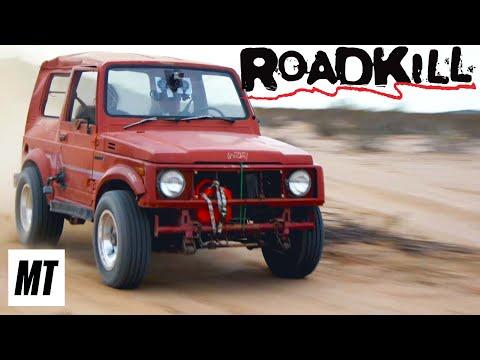 Super Sammy! 440 Big Block in Junkyard Suzuki Samurai | Roadkill | MotorTrend