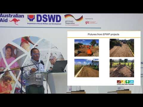 Presentation on Expanded Public Works Program (EPWP)