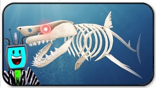 Becoming The Skeleshark In Roblox Sharkbite