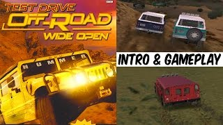 Test Drive Off-Road Wide Open - Intro & Gameplay PS2 HD