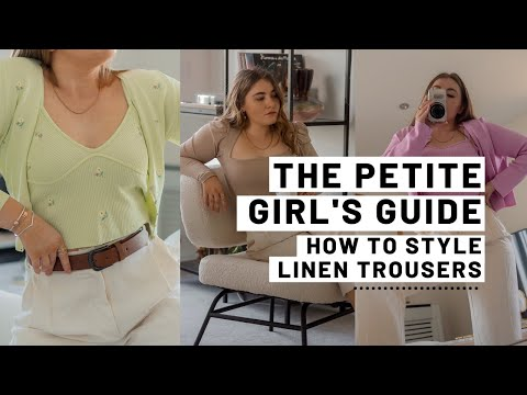The Petite Girls Guide To Linen Trousers