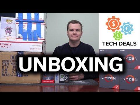 Tech Deals - Opening Stuff You Sent Me! - January 2018