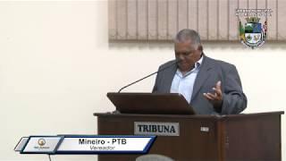 30ª Sessão Ordinária - Vereador Mineiro