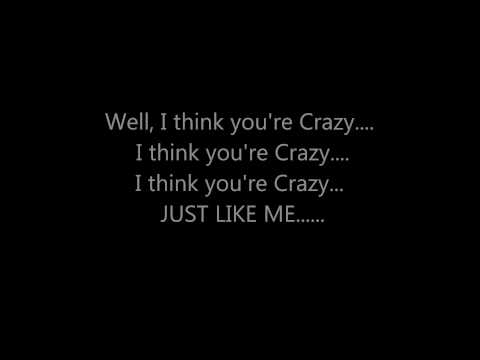 CEE LO GREEN - CRAZY **(LYRICS ON SCREEN)**