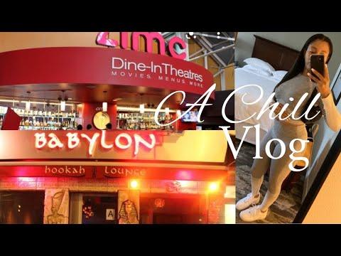 Babylon Hookah Lounge NYC + AMC Dine - In Menlo Park 12   Vlog