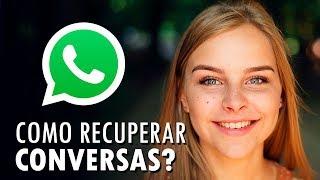 Como recuperar conversas apagadas do WhatsApp?