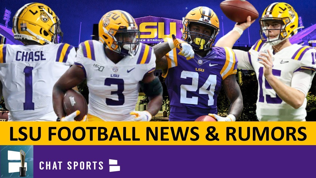 Lsu Recruiting Korey Foreman Lsu Football Rumors On Myles Brennan Lsu Wr The Best In The Sec Youtube