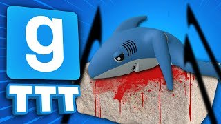 SACRIFICE THE SHARK | Gmod TTT