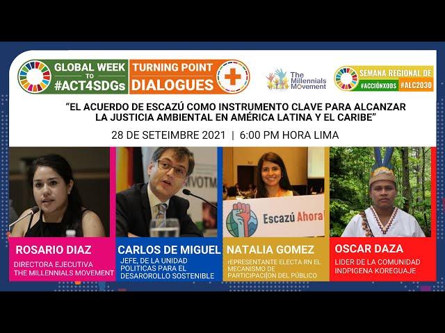 #CambiemosElRumbo: El Acuerdo de Escazú como instrumento clave para  la justicia ambiental en ALC