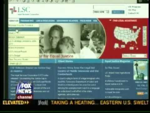 Fox News Spins the Legal Services Corporation