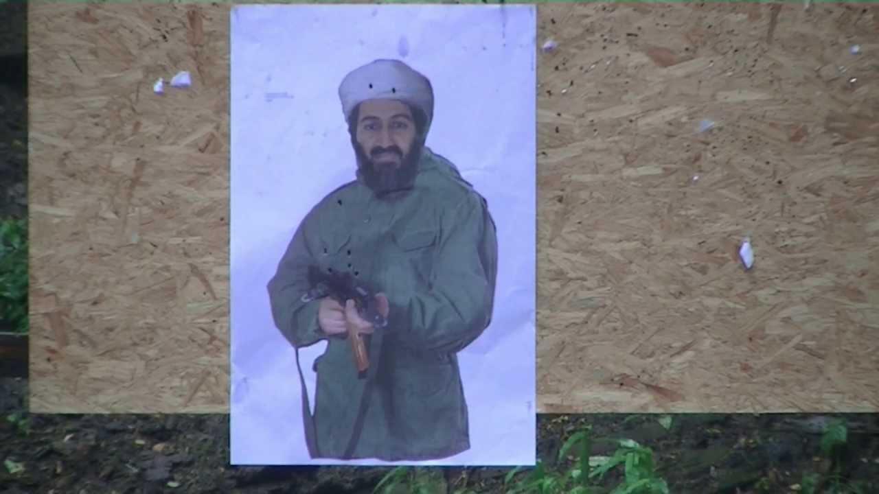 Arsenal ( Fime ) SGL-21 vs Bin Laden & Hostage targets ... Osama Bin Laden Targets For Shooting