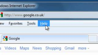 How to Find out which version of Internet Explorer you are running