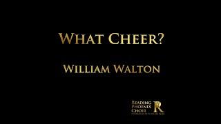 What Cheer? - William Walton