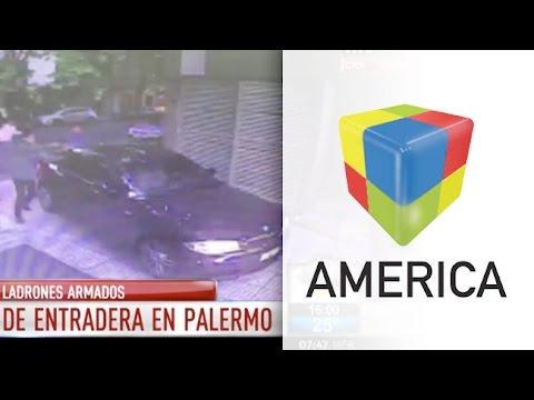 "Palermo:  Espectacular escape en un intento de ""entradera"""