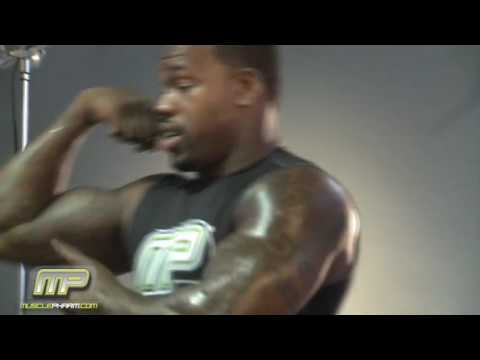 Joey Porter- Muscle Pharm photo shoot