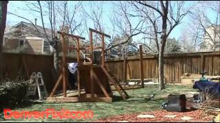 Congo Outing Iii Swing Set - Gorilla Playsets - Denverfixit.com Install