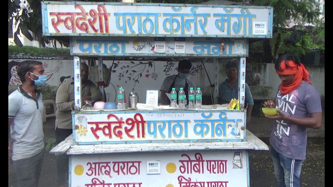 Famous Paratha & Maggi Corner of Nagpur   Nagpur Tasty Evening Snacks   Indian Street Food