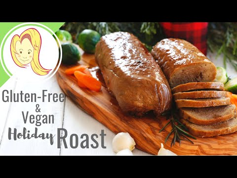 Gluten Free Vegan Holiday Mushroom Roast
