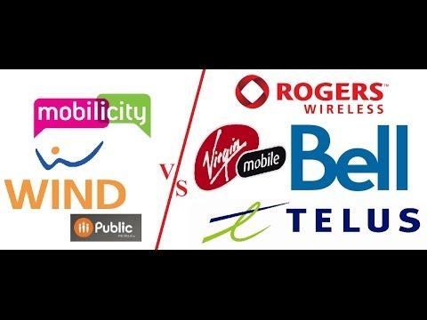 Канада 105: Сотовые операторы и интернет-провайдеры