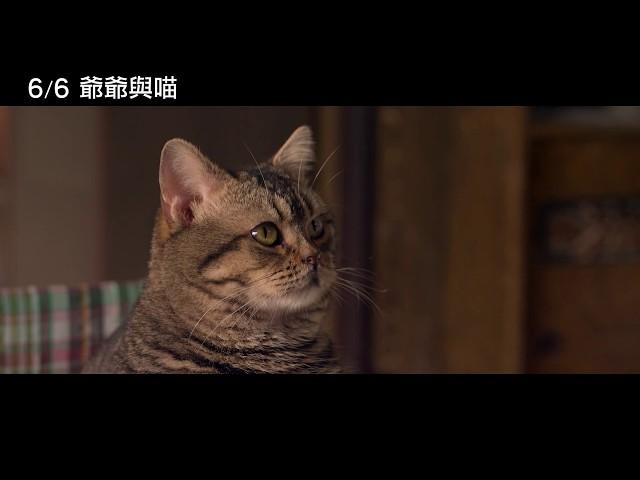 6/6【爺爺與喵】中文特報