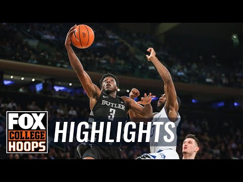 Butler vs Seton Hall | 2018 Big East Tournament | Highlights | FOX COLLEGE HOOPS