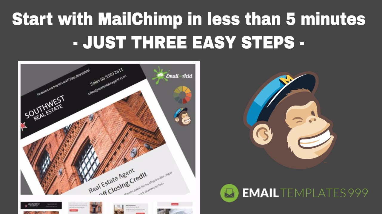 how to add a video to mailchimp newslettr