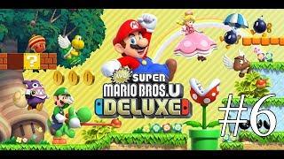 Let's Play New Super Mario Bros U Deluxe 6 - Sushi
