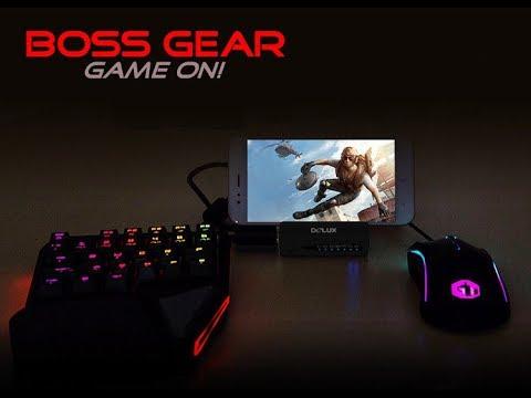 Dùng bàn phím và chuột chiến Game điện thoại Android|| Delux S2