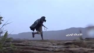 Йемен. 20.04.2018. Хуситы сражаются с наемниками саудитов в районе Алаб провинции Асир