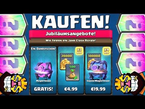 JUBILÄUMSANGEBOTE KAUFEN! || CLASH ROYALE || Let's Play CR [Deutsch German]