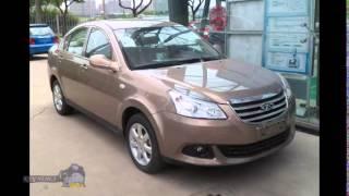 Китайские авто новинки 2015 седан Chery E5