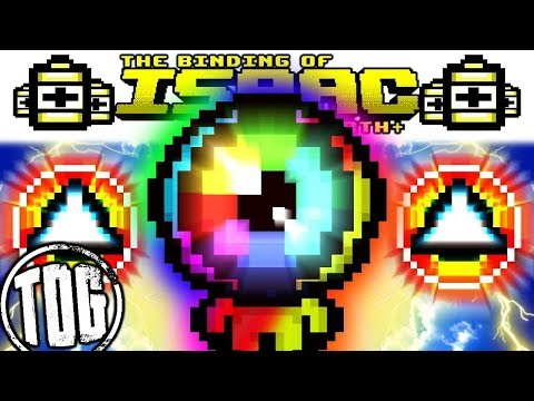 TETRACHROMACY, MOST BEAUTIFUL & BROKEN MOD EVER   AFTERBIRTH PLUS Gameplay