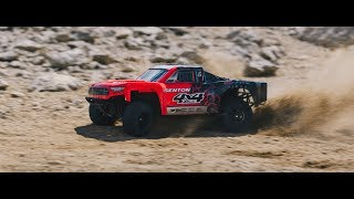 ARRMA 1/10 SENTON 4x4 MEGA Short Course Truck Red/Black Video