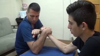 Bilek Güreşi Nasıl Yapılır - osman çakır
