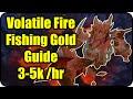 WoW Gold Farming Patch 6.2.4: Volatile Fire Gold Making - Fishing Farming Guide - WoD Gold Guide