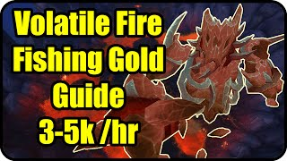 WoW Gold Farming Patch 6.2.2: Volatile Fire Gold Making - Fishing Farming Guide - WoD Gold Guide