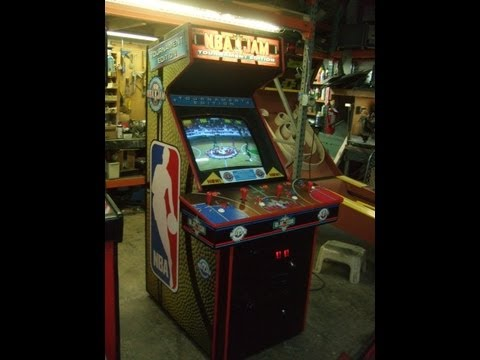 #329 Bally Midway NBA JAM Tournament Edition Arcade Video Game - TNT Amusements