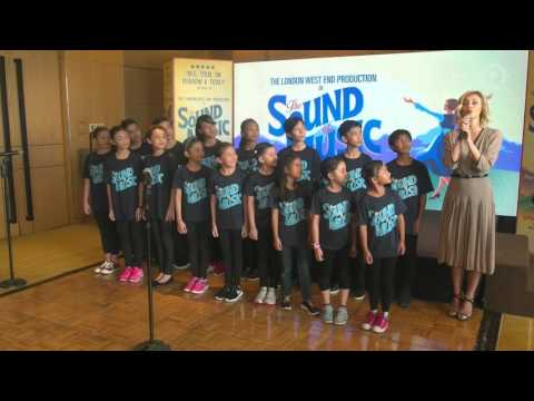 'The Sound of Music' Manila cast sing musical's title song