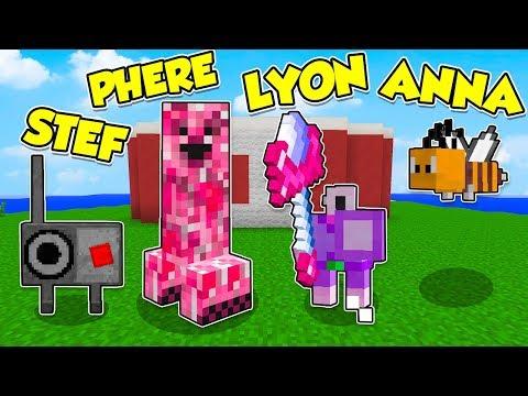 Minecraft ITA - Prova a NON RIDERE! - W/Lyon e Anna - #3