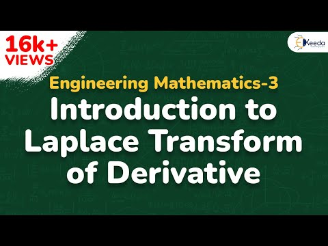 Laplace Transform of Derivative - Problem 1 - Laplace Transform - Engineering Mathematics 3