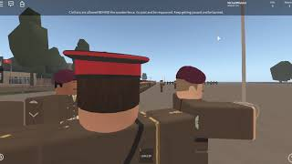 The Grenadier Guards Attend a Huge Inspection at Exeter Barracks! (Roblox)