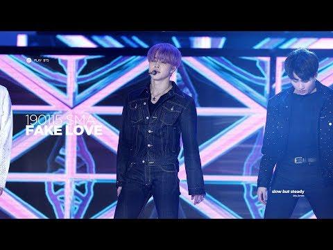 190115 방탄소년단 지민 (BTS JIMIN) - FAKE LOVE (JIMIN FOCUS 4K fancam)